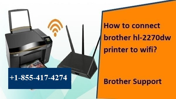 connect brother hl 2270dw printer to wifi